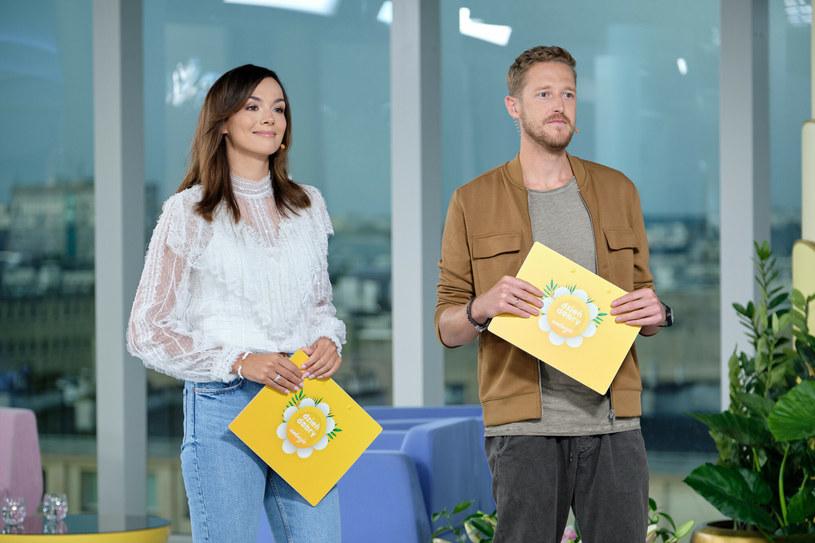 """Paulina Krupińska i Damian Michałowski w """"DDTVN"""" /Bartosz Krupa /East News"""
