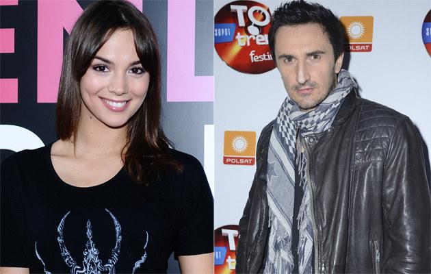 Paulina Krupińska i Sebastian Karpiel-Bułecka /Andras Szilagyi, Jarosław Antoniak /MWMedia