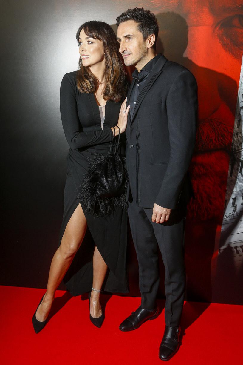 Paulina Krupińska i Sebastian Karpiel-Bułecka /Baranowski /AKPA