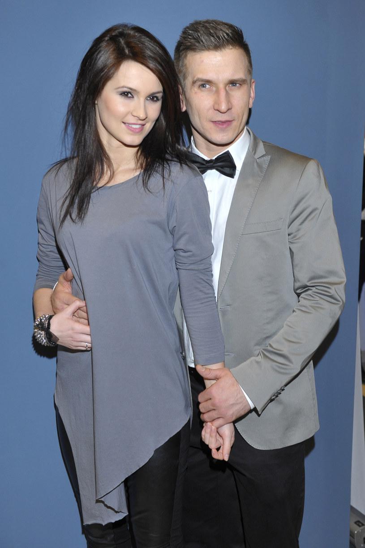 Paulina Kubicka i Tomasz Barański byli kiedyś parą /Kurnikowski /AKPA