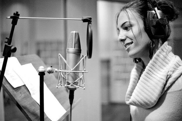 Paulina Lenda uparcie pracowała w studiu nad swoim debiutem płytowym (fot. Dariusz Kawka) /materiały prasowe
