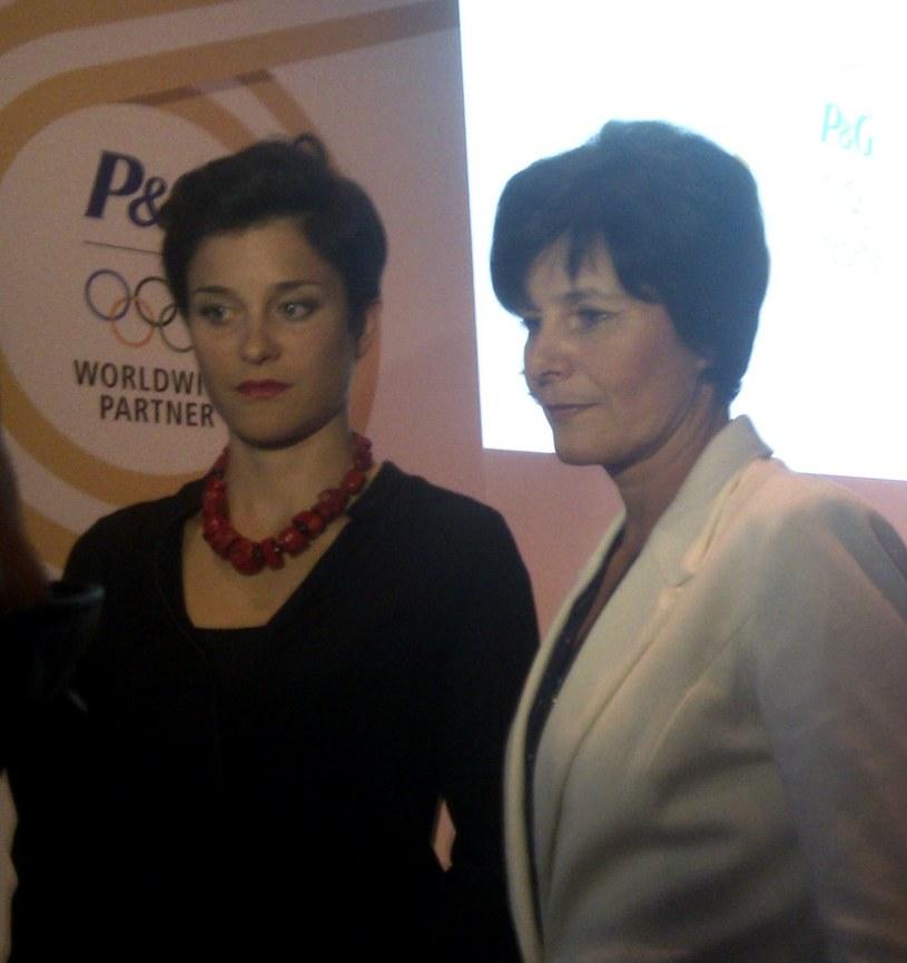 Paulina Maciuszek z mamą Michaliną. /INTERIA.PL