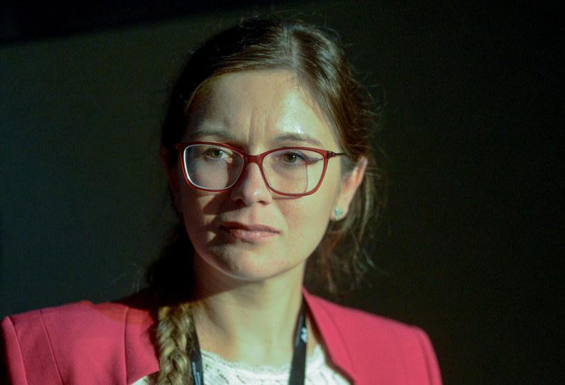 Paulina Matysiak z Partii Razem /Piotr Kamionka /Reporter