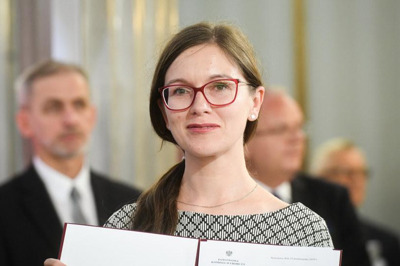 Paulina Matysiak znalazła się w Zarządzie Krajowym Lewicy Razem /Jacek Dominski/REPORTER /Reporter