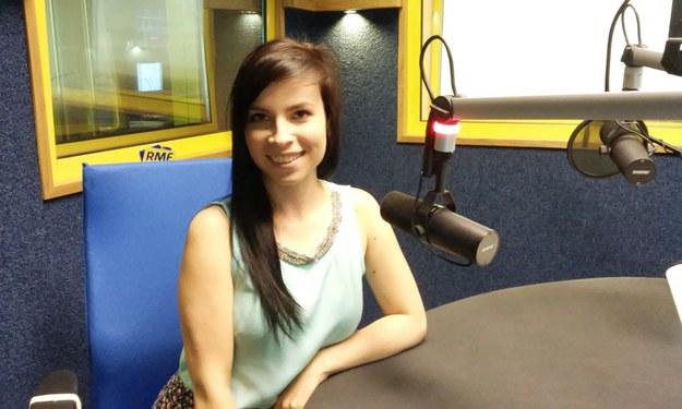 Paulina Mikuła w studiu RMF FM /Elwira Baranowska /RMF FM