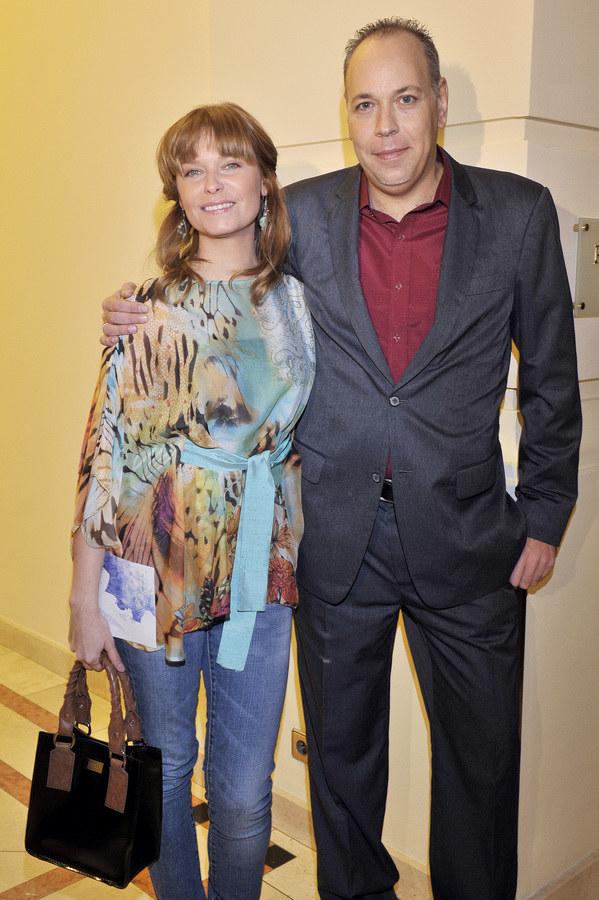 Paulina Młynarska i Michael Moritz /Kurnikowski /AKPA