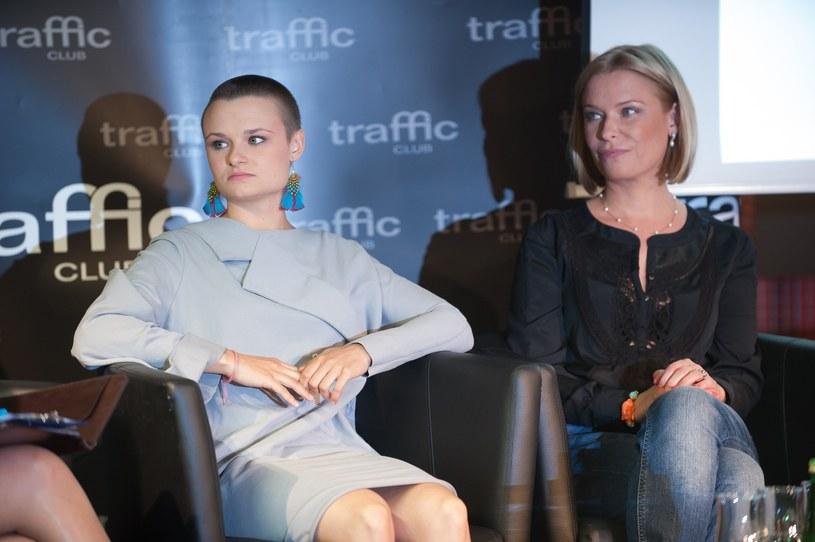 Paulina Młynarska z córką /Bartosz Krupa /East News