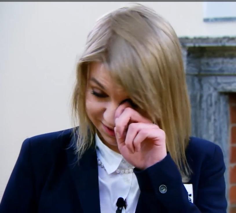 Paulina nie mogła opanować swoich emocji /TVN