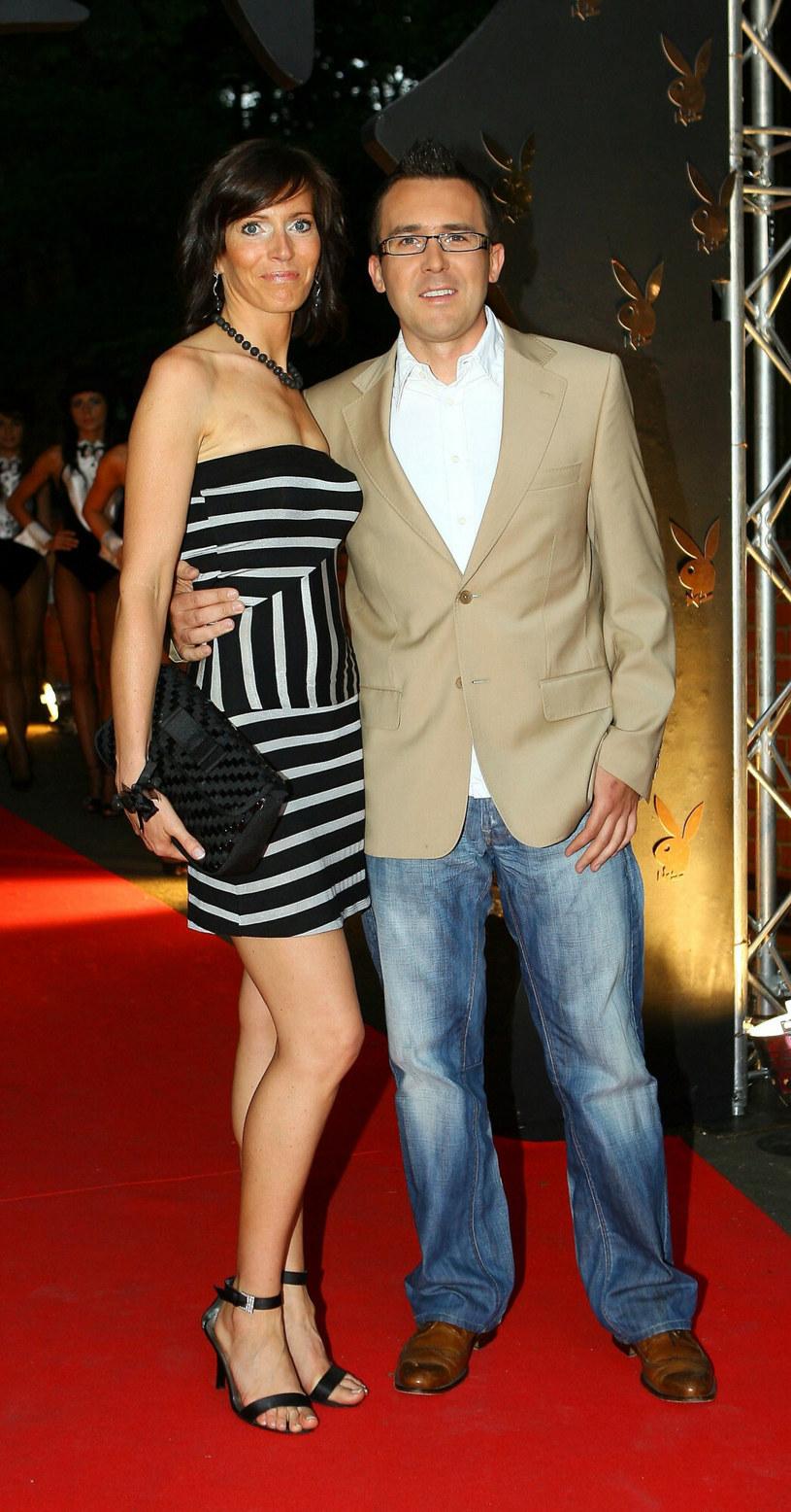 Paulina Smaszcz i Maciej Kurzajewski w 2007 roku /Tricolors /East News