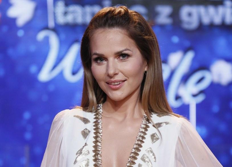 """Paulina Sykut-Jeżyna na planie """"Tańca z Gwiazdami"""" /Piotr Molecki /East News"""