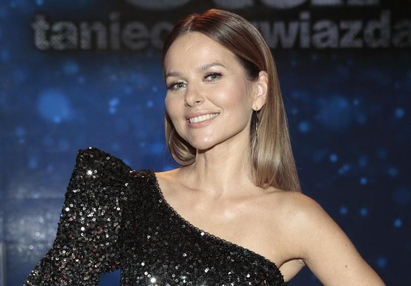 """Paulina Sykut-Jeżyna podczas jedenastej edycji """"Tańca z gwiazdami"""" /Adam Jankowski /Reporter"""