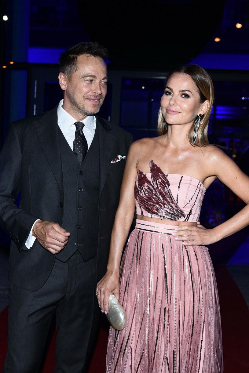 Paulina Sykut-Jeżyna z mężem /VIPHOTO /East News