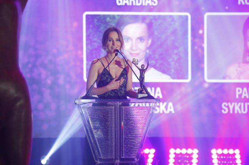 Paulina Sykut-Jeżyna z Telekamerą /AKPA