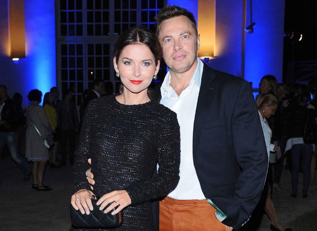 Paulina Sykut z mężem /Andras Szilagyi /MWMedia