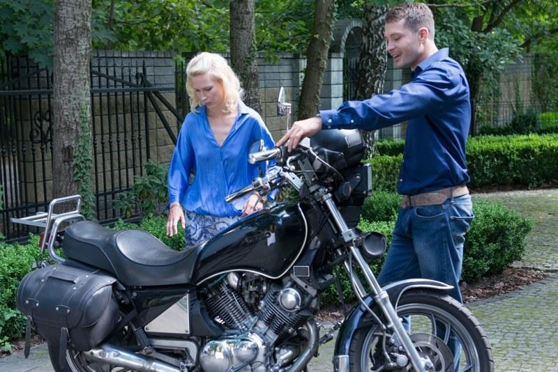 Paulina złapała bakcyla motocyklowego /Agencja W. Impact