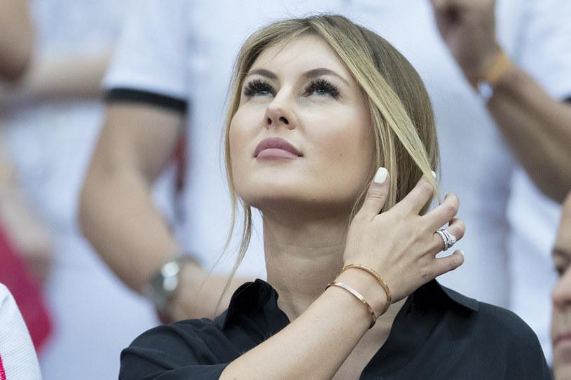 Paulina, żona Krzysztofa Piątka /Andrzej Iwańczuk /East News