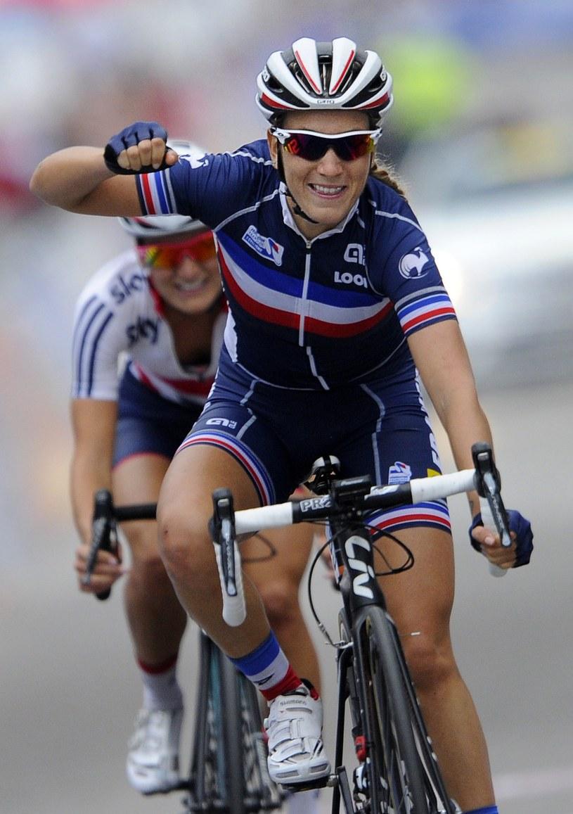 Pauline Ferrand-Prevot triumfuje /AFP