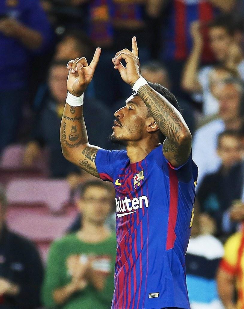 Paulinho dobrze wprowadził się do Barcelony /PAP/EPA