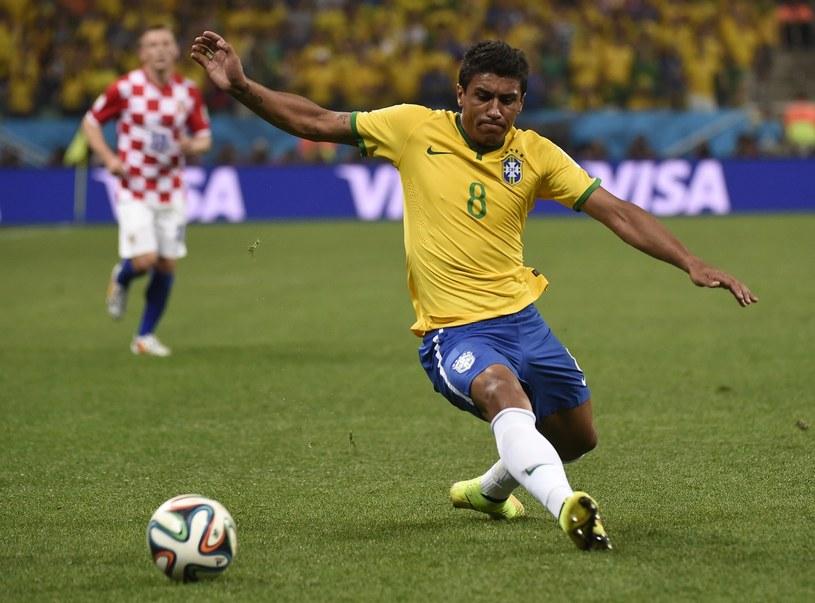 Paulinho ma wrócić do podstawowego składu w meczu z Kolumbią /AFP