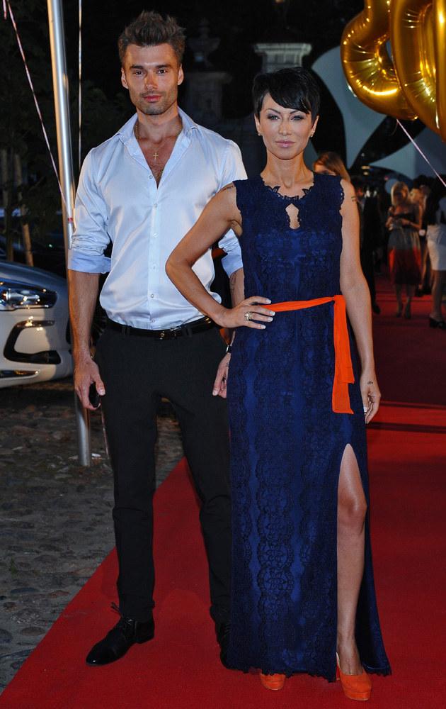 Paulla z mężem Rafałem /Andras Szilagyi /MWMedia