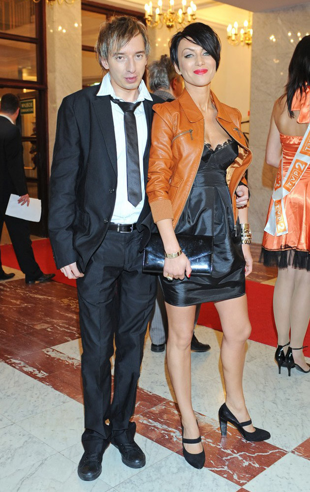 Paulla ze swoim byłym Adamem Konkolem /East News