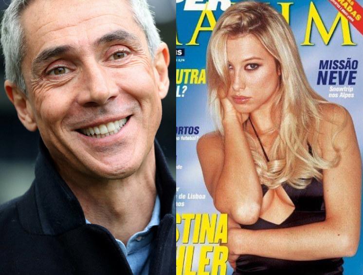 "Paulo Sousa i Cristina Mohler na okładce pisma ""Maxim"" /ROMAIN PERROCHEAU /East News"