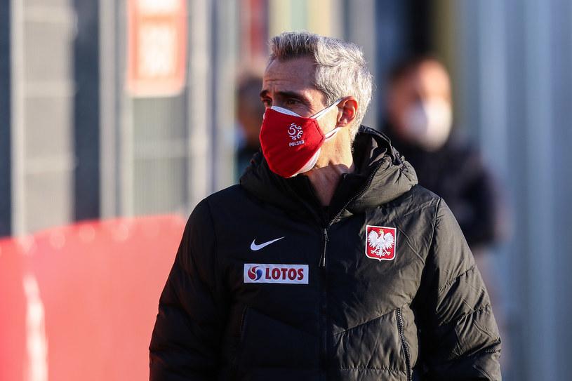 Paulo Sousa podczas treningu reprezentacji Polski /Adam Starszynski / PressFocus / NEWSPIX.PL /Newspix
