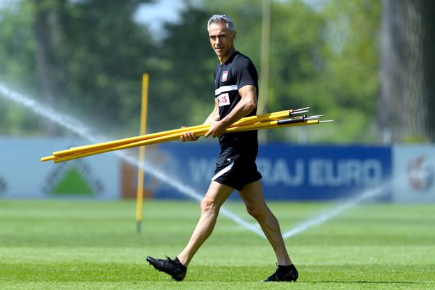 Paulo Sousa - trener piłkarskiej reprezentacji Polski /Jakub Kaczmarczyk /PAP