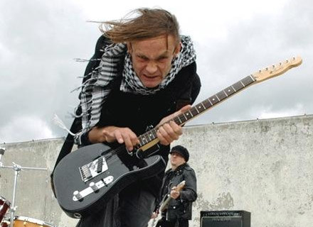 Paulus (Partizan) na planie /Lemon Records