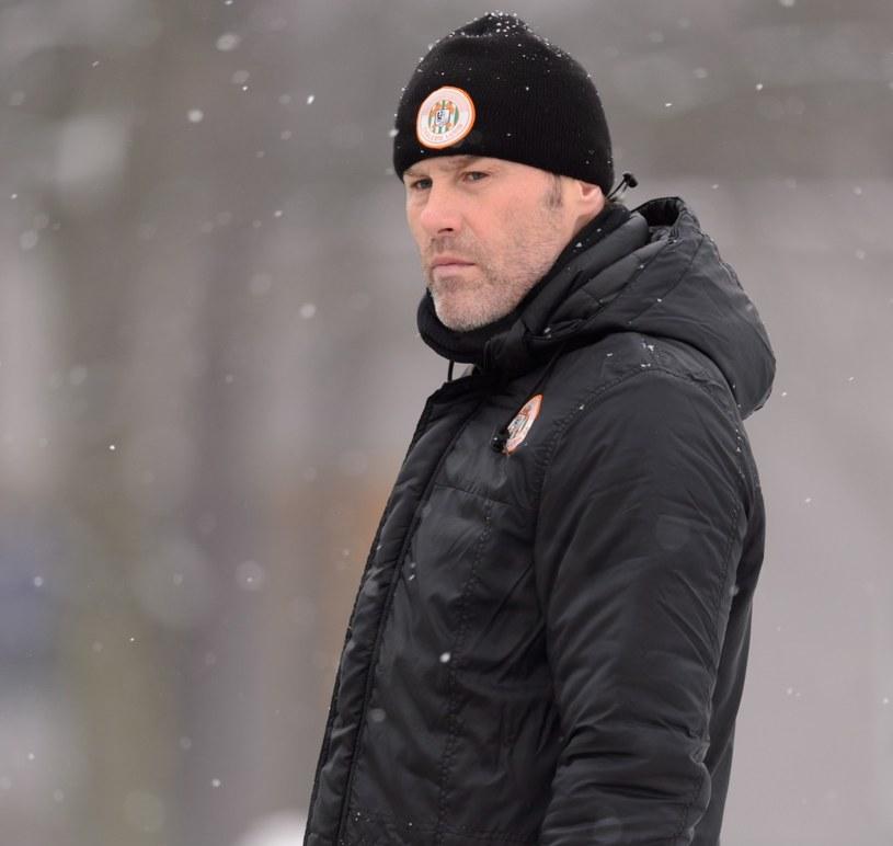 Pavel Hapal, trener KGHM Zagłębia /Jakub Kaczmarczyk /PAP