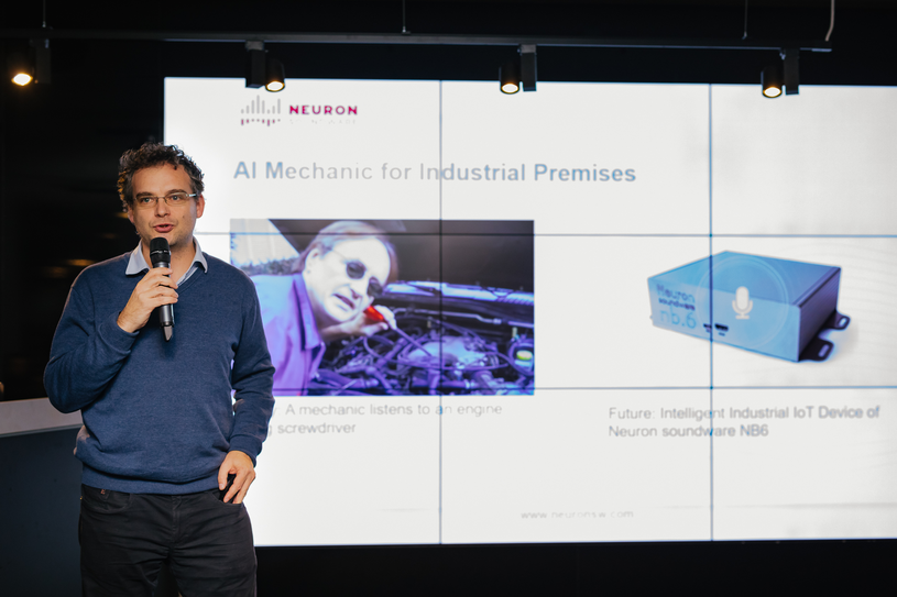 Pavel Konecny, założyciel Neuron Soundware / Źródło: Kulczyk Investments /&nbsp
