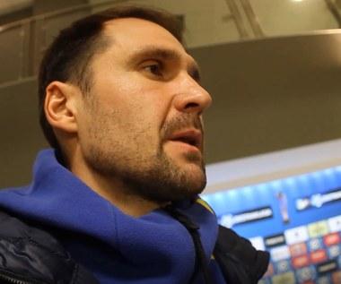 Pavels Steinbors (Arka Gdynia) po meczu z Lechem Poznań 0-1. Wideo