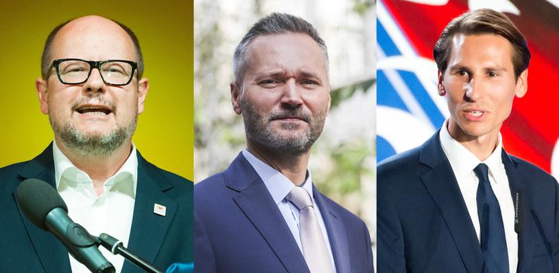 Paweł Adamowicz, Jarosław Wałęsa, Kacper Płażyński /Wojciech Strozyk/Beata Zawrzel/ /Reporter