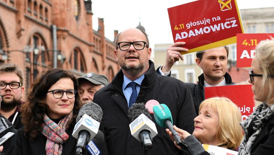 Paweł Adamowicz ponownie prezydentem Gdańska / Adam Warżawa    /PAP