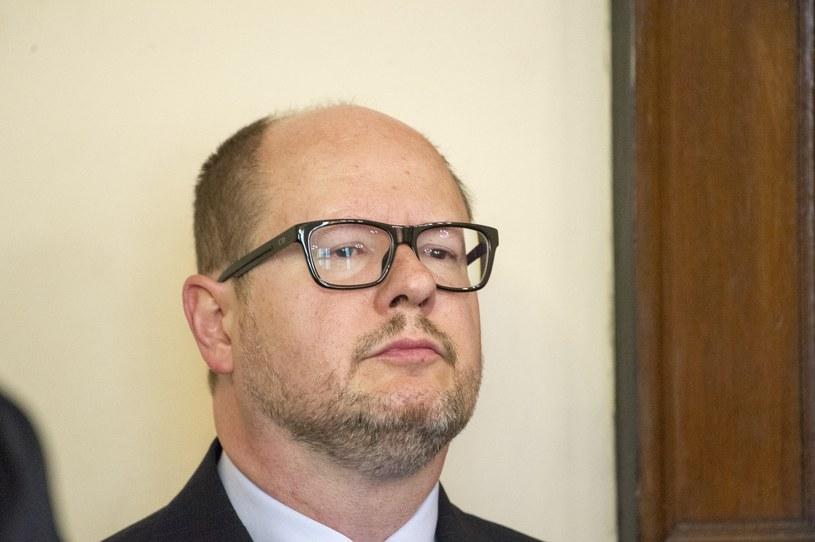 Paweł Adamowicz /Wojciech Strozyk/REPORTER /Reporter
