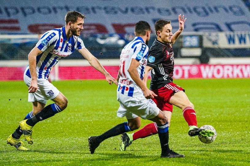 Paweł Bochniewicz (z lewej) i Rami Kaib (w środku) /Voetbal International /East News