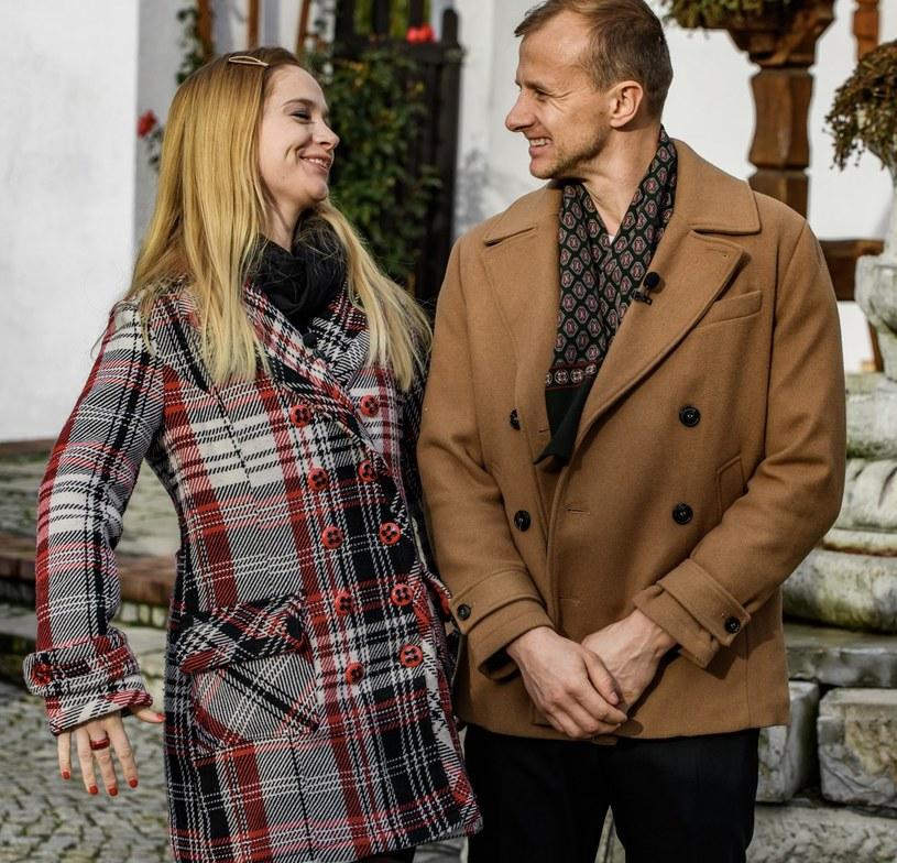 Paweł Bodzianny i Marta Paszkin /TVP /Agencja FORUM