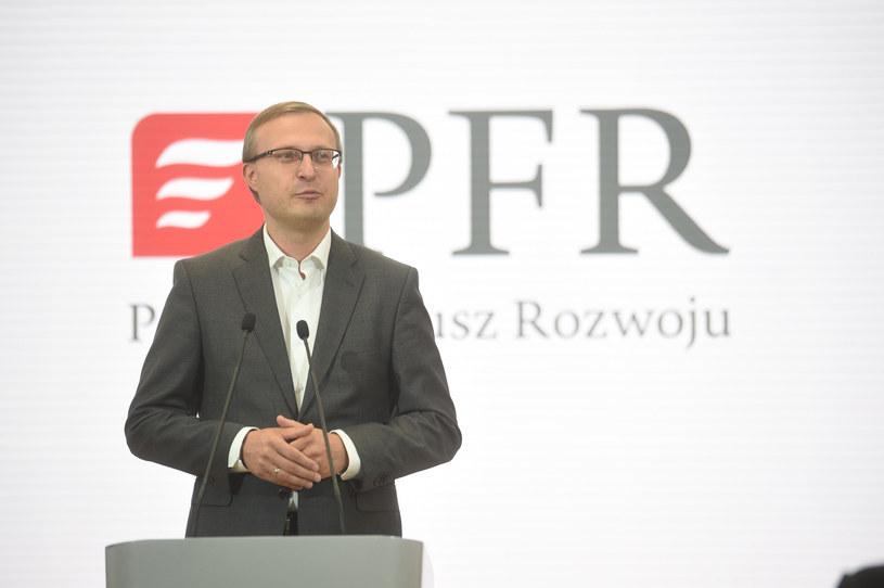 Paweł Borys, prezes PFR. Fot. Zbyszek Kaczmarek /Reporter