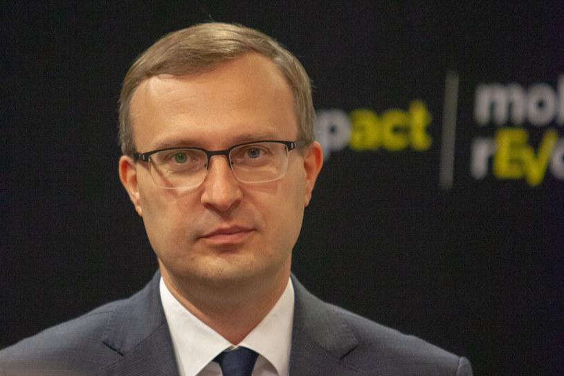 Paweł Borys, prezes PFR /Grzegorz Banaszak /Reporter