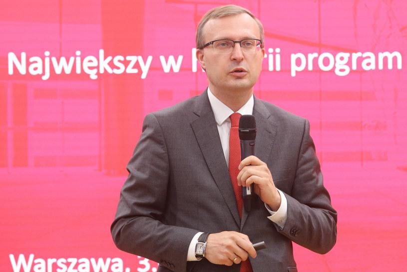 Paweł Borys, prezes PFR /Tomasz Jastrzębowski /Reporter