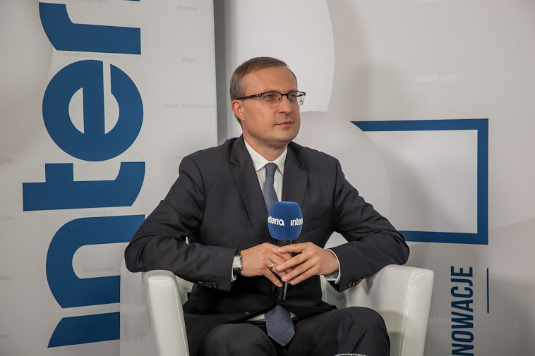 Paweł Borys, prezes Polskiego Funduszu Rozwoju, fot. Ireneusz Rek /INTERIA.PL