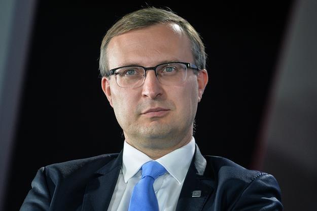 Paweł Borys, prezes Polskiego Funduszu Rozwoju. Fot. Łukasz Dejnarowicz /FORUM