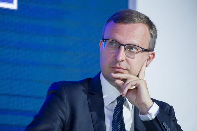 Paweł Borys; prezes Polskiego Funduszu Rozwoju. /Wojciech Strożyk REPORTER /Reporter