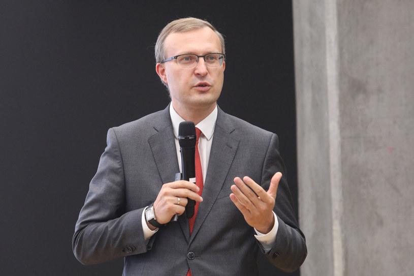 Paweł Borys, prezes Polskiego Funduszu Rozwoju /Tomasz Jastrzębowski /Reporter