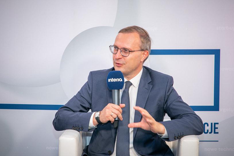 Paweł Borys, prezes Polskiego Funduszu Rozwoju /Ireneusz Rek /INTERIA.PL