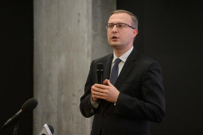 Paweł Borys, przewodniczący Rady Grupy PFR /Zbyszek Kaczmarek /Reporter