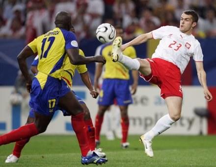 Paweł Brożek zagrał na ostatnich MŚ, ale na Euro nie pojedzie, choć jest teraz lepszym piłkarzem. /AFP