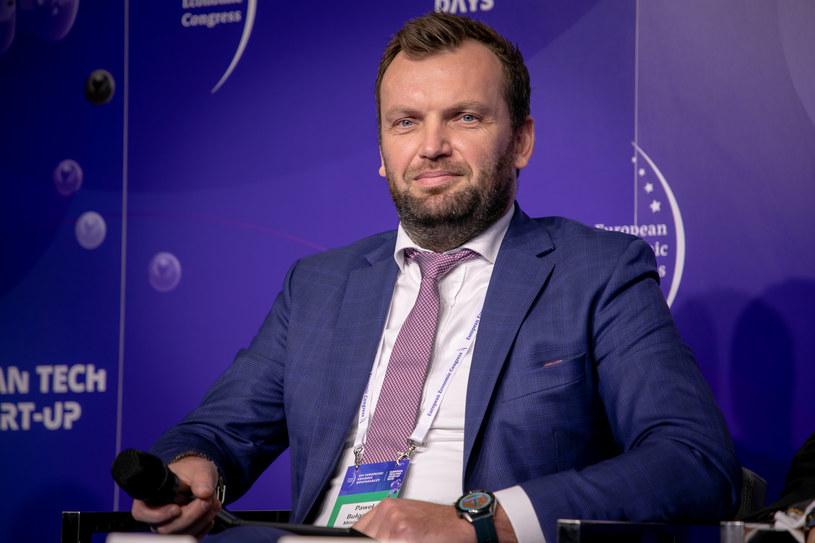 Paweł Bułgaryn, zastępca dyrektora w Departamencie Zarządzania Strategicznego Ministerstwa Finansów /Fot. Ireneusz Rek /INTERIA.PL
