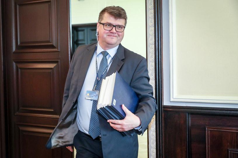 Paweł Chruszcz miał rozmawiać w Warszawie z Maciejem Wąsikiem, byłym szefem CBA (na zdjęciu) /Andrzej Iwańczuk /Reporter