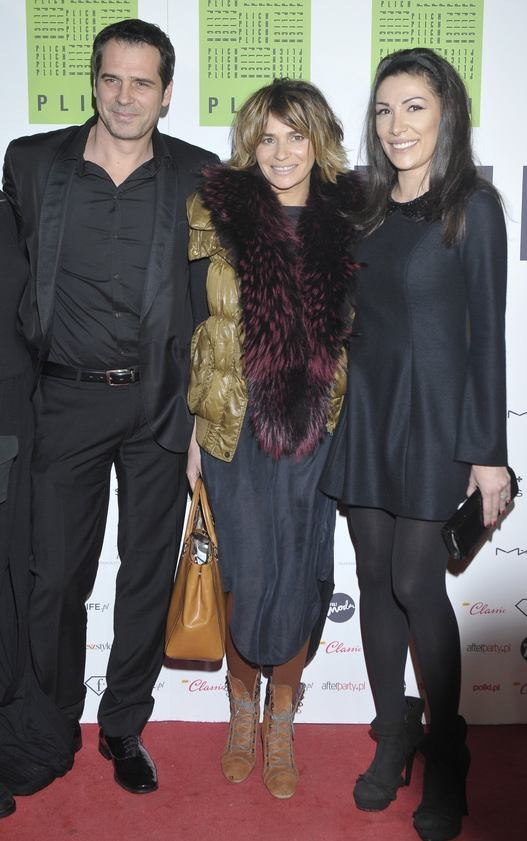 Paweł, Emma i siostra Dorota /- /AKPA